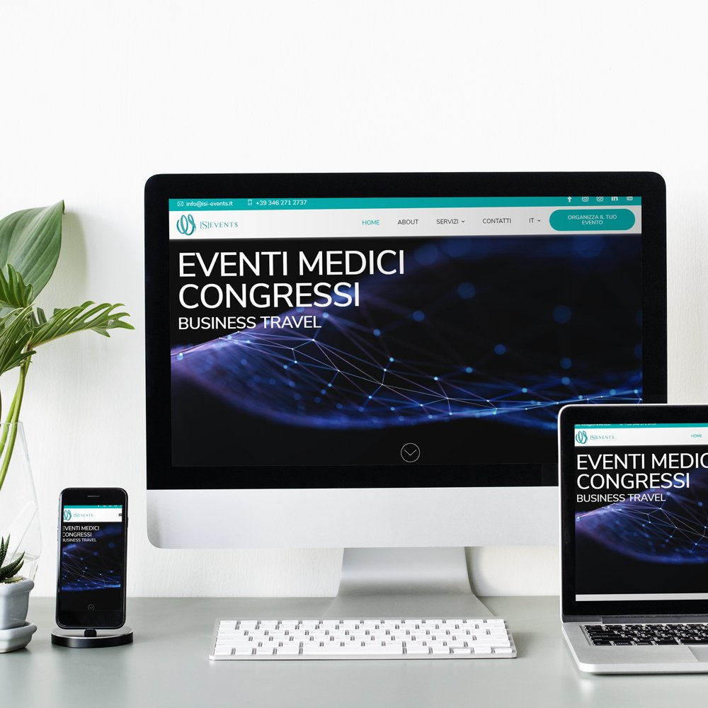 ISI Events sito web